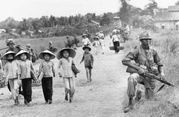 戰地攝影:曾經凄慘的畫面 越南戰場實拍