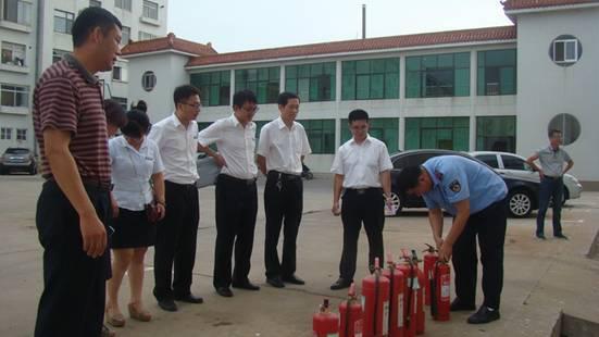 建行威海乳山支行组织消防知识培训及灭火演练