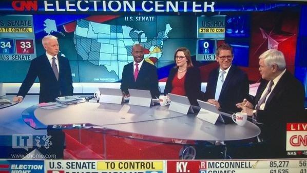 cnn直播_Surface Pro 3在CNN直播间糗大了|Surface|Pro_凤凰数码