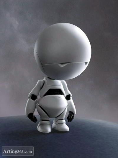 简笔画大白机器人_网帖150305:细数影视作品机器人形象 千挑万挑大白赛高
