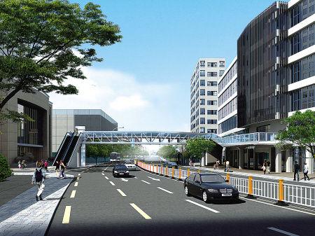 寧波市第一醫院門口將建人行天橋