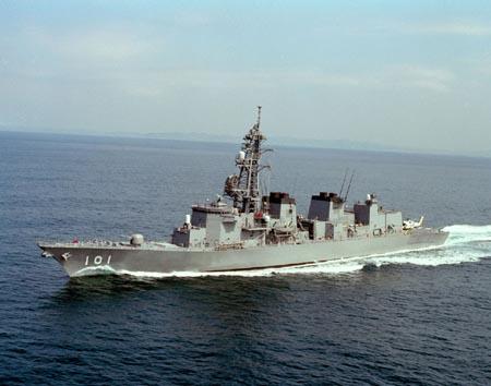 大胆级驱逐舰_资料:日本海上自卫队\