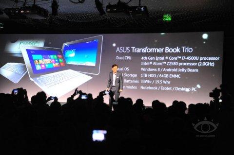 Android/Win8兼备 华硕变形设备TX201现身